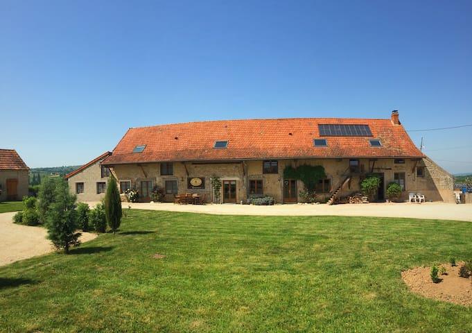 Gite BOURGONNAISE - Saint-Martin-de-Salencey - House