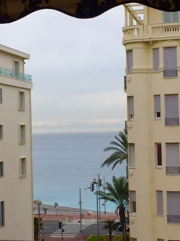 Sea view from the apartment