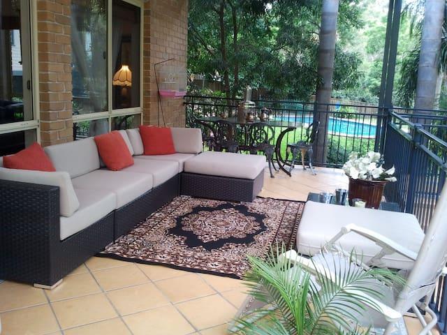 Outdoor verandha