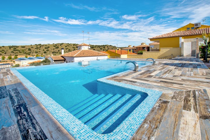 Villa with 5 bedrooms in Ruidera, with private pool and WiFi