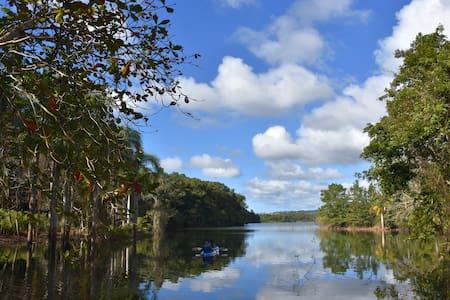 Getaway Tent & Kayak steps from Guajataca Lake