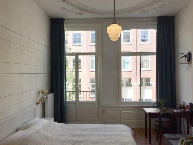 Chambre authentique à De Pijp