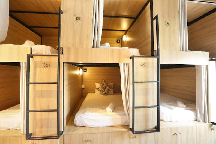 Tropical Forest - Dormitory with Shared bathroom