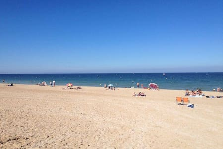 Cosy seafront apartment - Hermanville-sur-Mer - Wohnung
