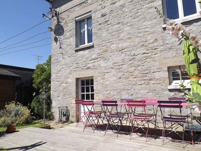 Maison de vacances pour 9 personnes à Matignon