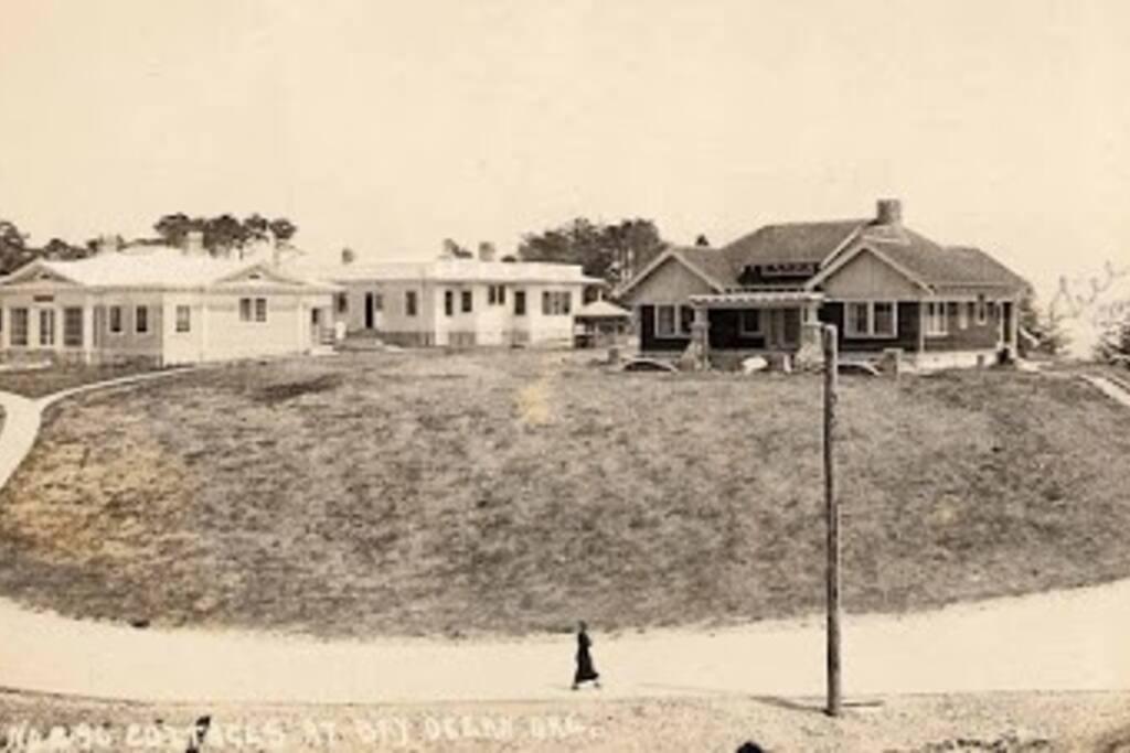 Original location of home on Bayocean