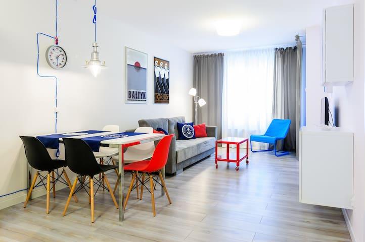 Mapio Woda - Apartament z basenem - Kołobrzeg - Byt