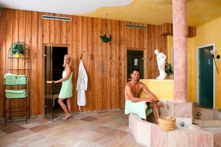 Sauna, Dampfbad, Infrarot