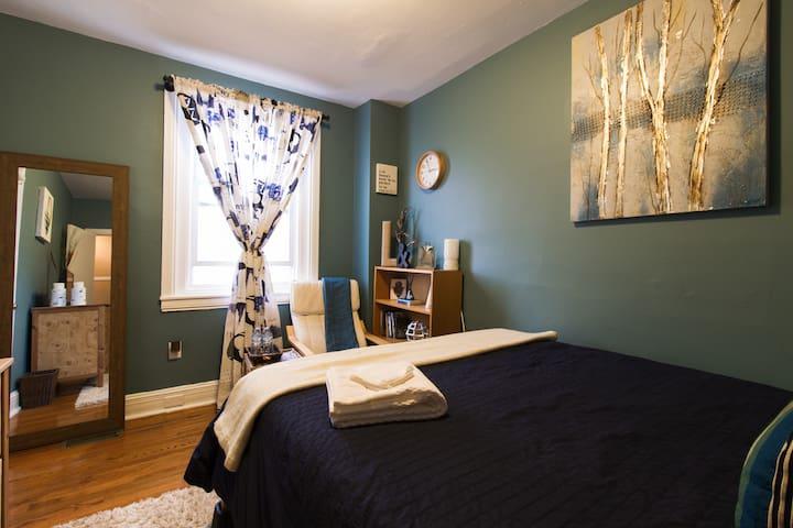 Beautiful Retreat by Art Museum - Blue Suite!