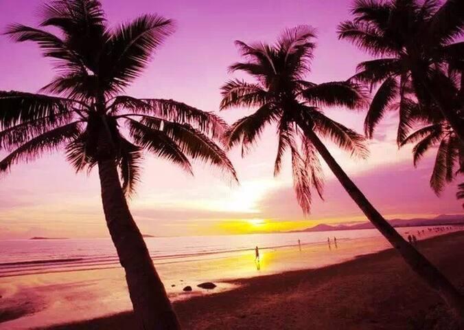 阳光海岸-三亚最好的热带花园温泉小区 - 三亚市 - Pis