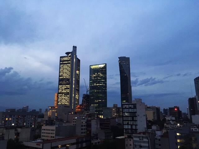 Best View - Amazing Location at La Roma - Ciudad de México - Apartament