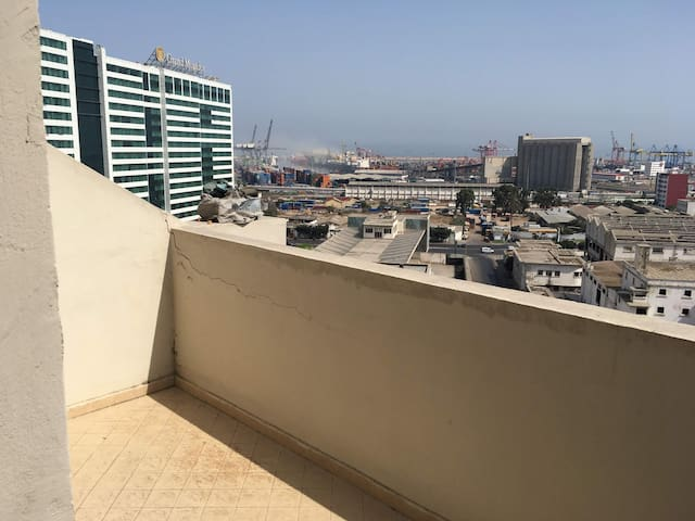 Appartement de standing avec vue sur le port