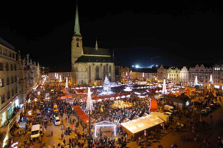Christmas market apartment. Only a few steps away.