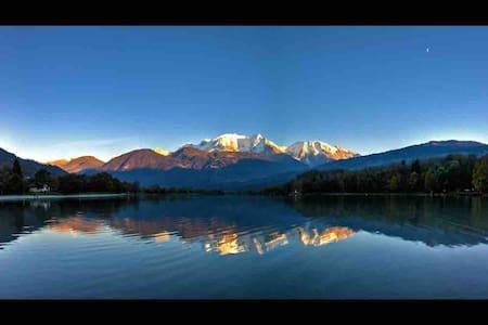 Appt 4 pers au calme 20 min de Chamonix et Megève