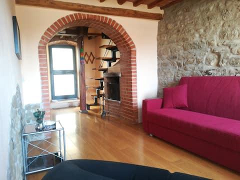 Tuscany three floors borgo house