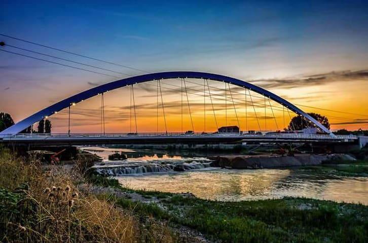 Alloggio vista ponte Meier