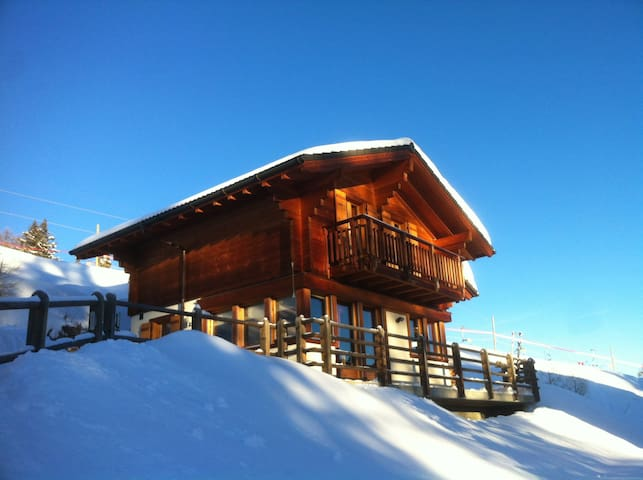 Chalet 338 directly on the slopes - Vex - Huis