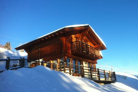 Chalet 338 directly on the slopes - Vex
