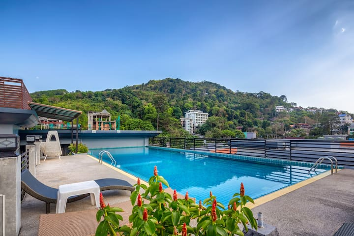 Spacious 2 Bedroom Apartment @Patong, 70 sq.m