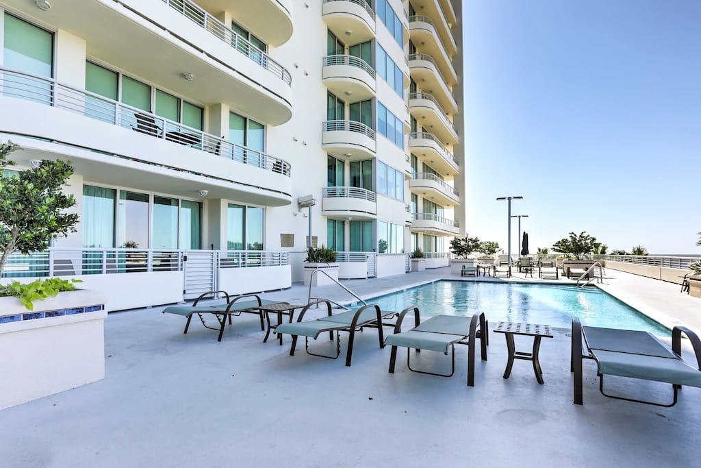 You'll be treated to resort-level amenities during your stay, and easy beach access right out the front door.