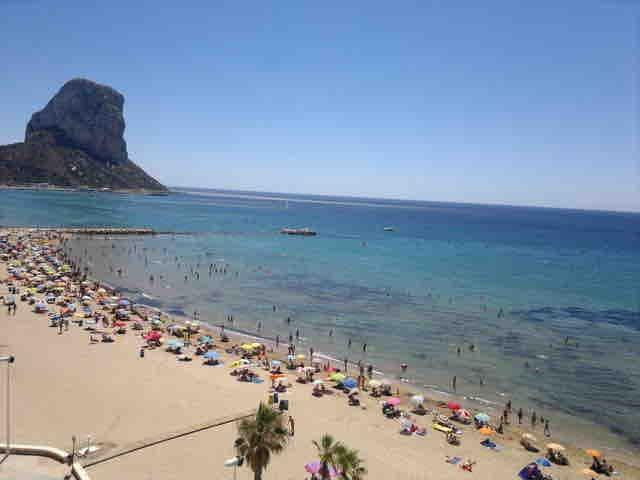 Calpe, playa, wifi, aire, ubicación perfecta,6i