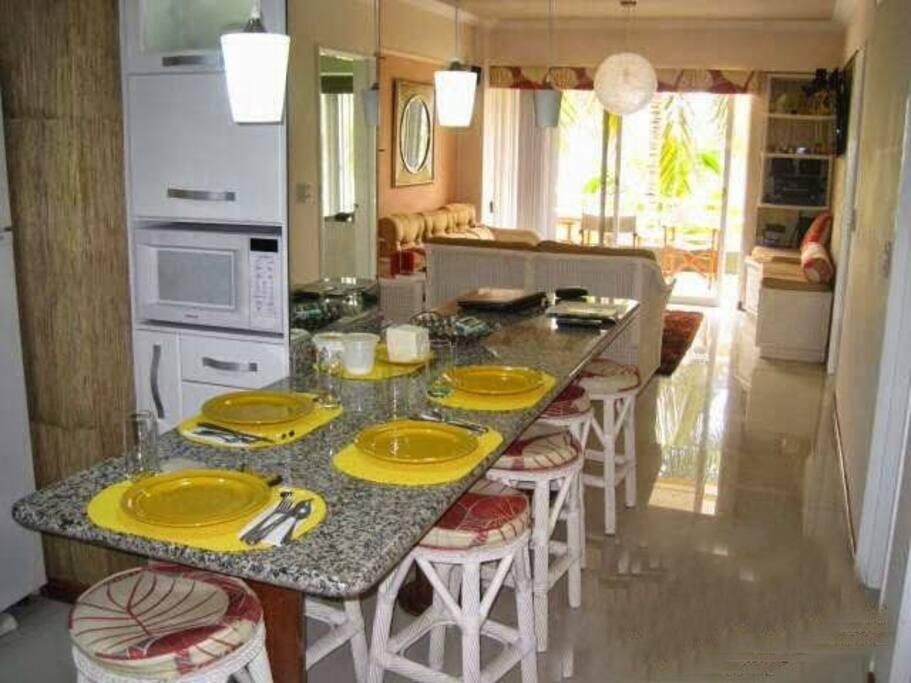 Area integrada a cocina