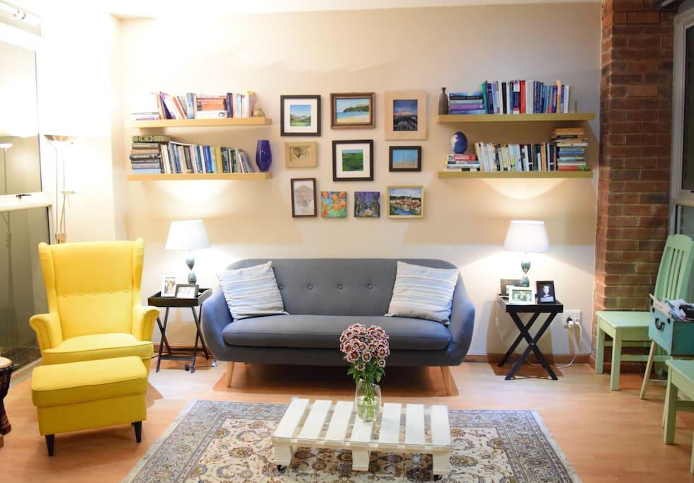 Living Room Back (Night-time)