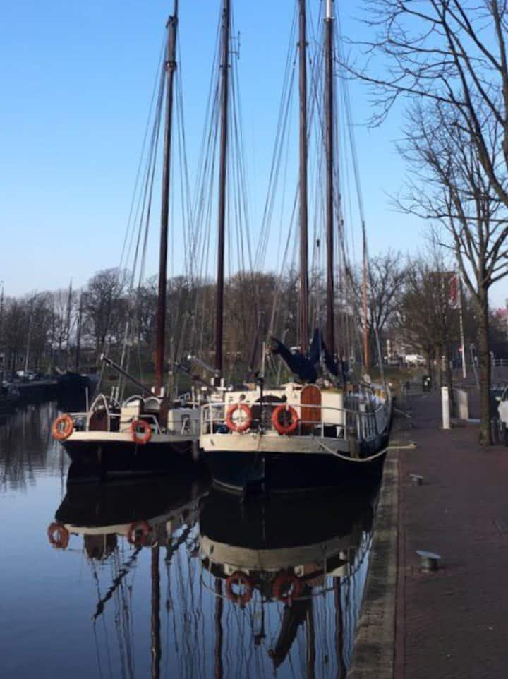 Slaapschip culturele hoofdstad Leeuwarden