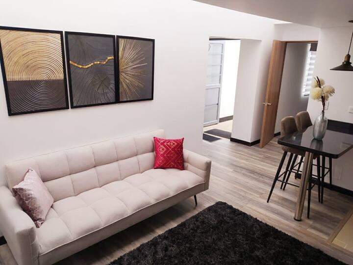 Apartaestudio 2b minimalista independiente Cedrit