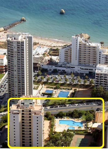Location, all about location!!! Just a 3 minutes walk to the beach