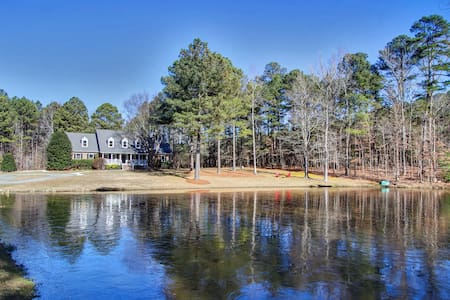 Luxury Country Estate Home w/Private Pond - Apex