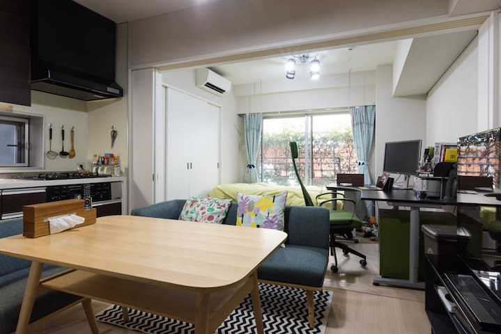Shirogane near Roppongi and Shibuya, Free Wifi - 港区 - 아파트