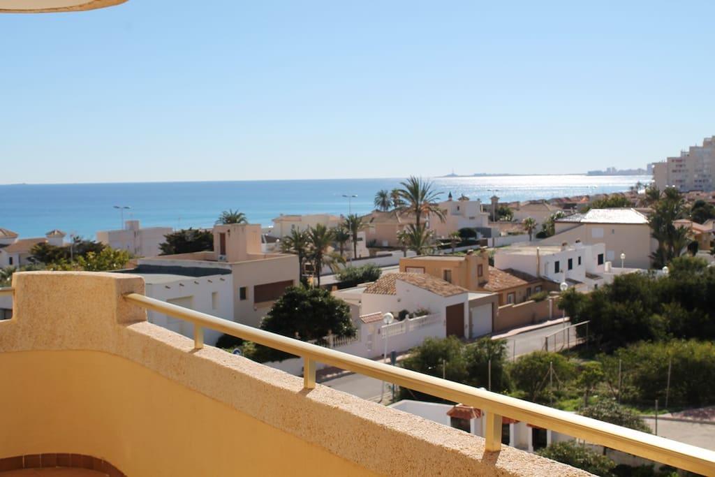 Vistas al Mar Mediterráneo y Faro de Cabo de Palos