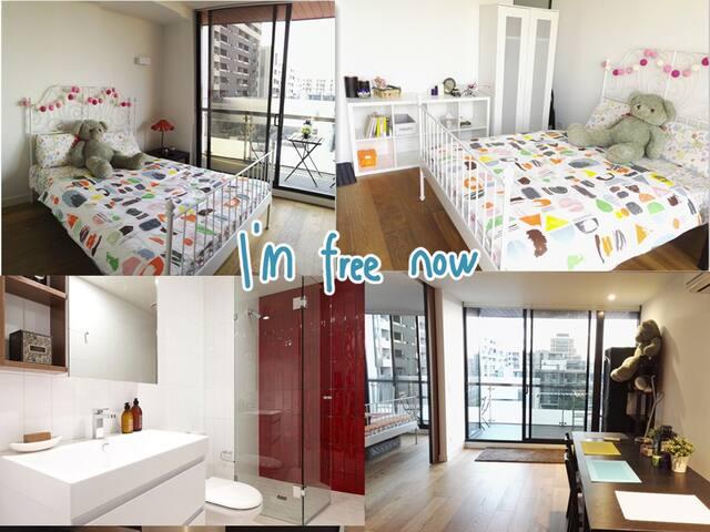 Perfect Location!NearCBD Master Room with Balcony! - Carlton - Apartment