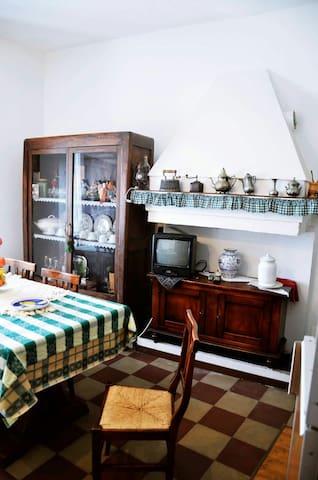 La casetta d'epoca tra mare e monti - Orsogna - Hus