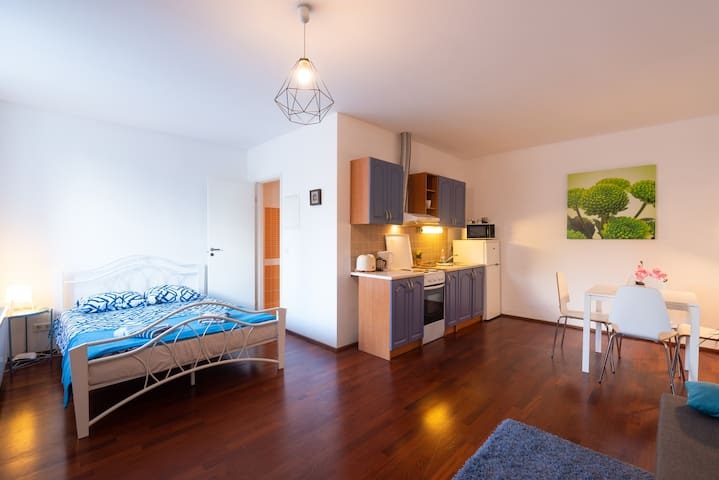 Lovely & Clean Studio Apartment with Terrace