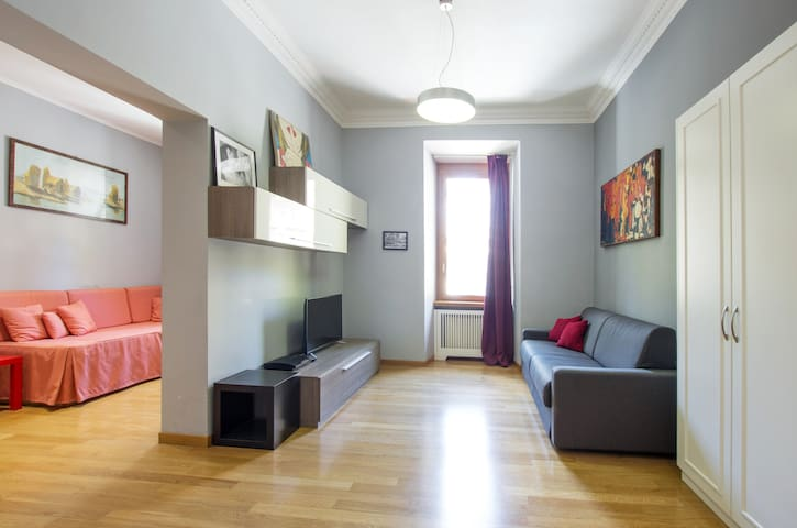 Trastevere-Family Flat-Excubitorium-Up to 5 ppl