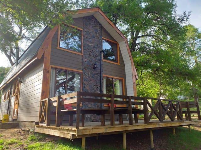 Cabaña Familiar estilo Loft para 6 personas