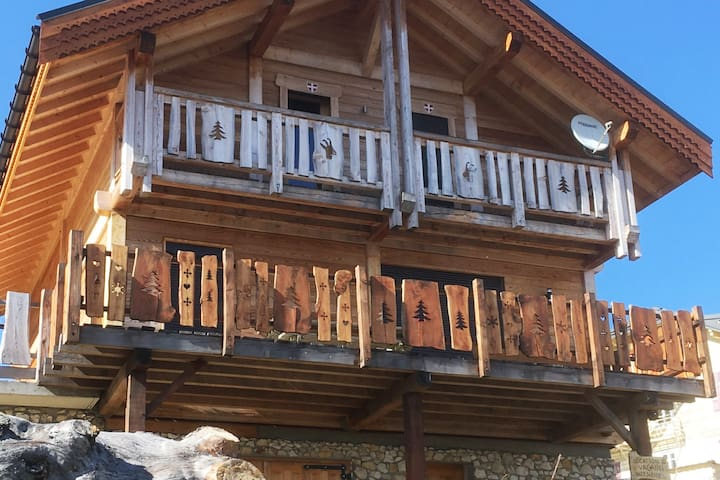 Savoyard chalet for 10 persons on  Mont Revard