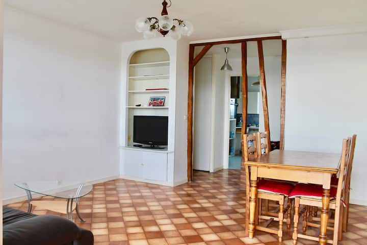 Chambre privée proche de Rouen