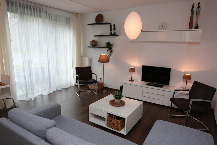Prachtig appartement,  tegen het centrum aan