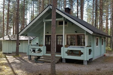Peaceful, cosy cottage in central finland - Laukaa - 小木屋