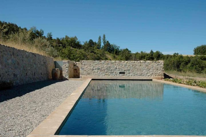 Grande maison avec piscine Alpes de Haute-Provence