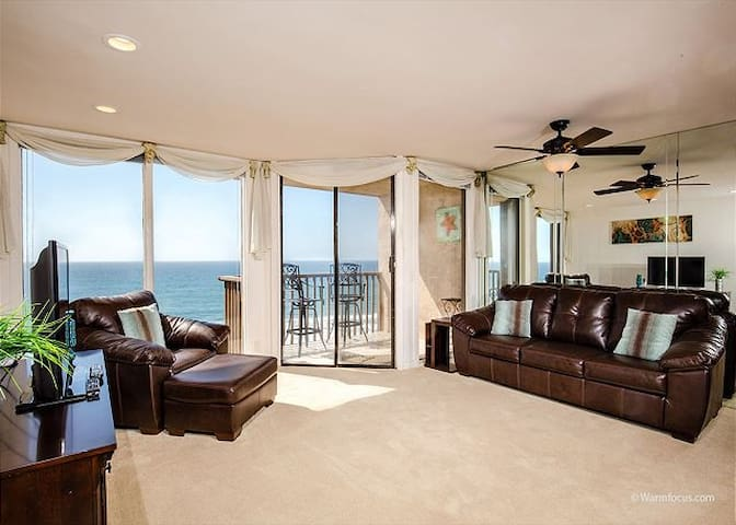 A SHORE THING! Oceanfront in Solana | 1 BD/1BA