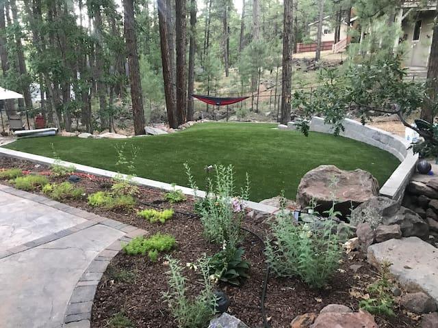 Come enjoy our outdoor hidden sanctuary!