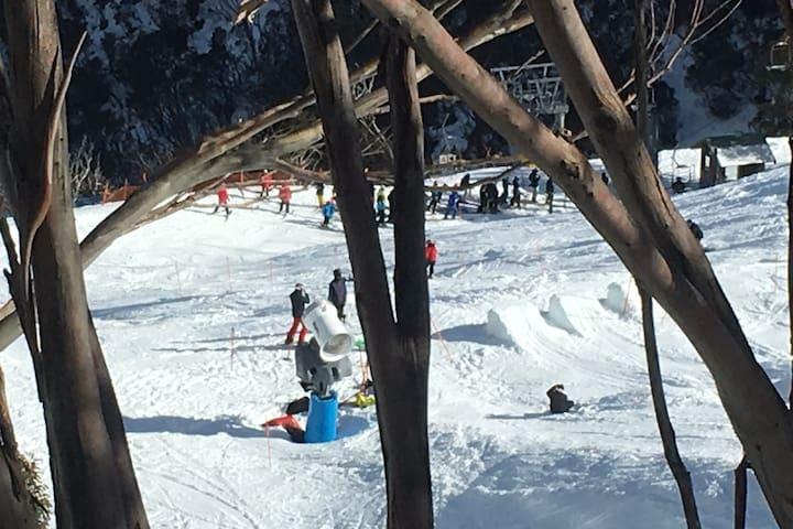 Sun Valley-Fabulous Views, fabulous Spring Skiing.