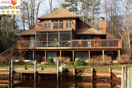 Stunning Private Suite in Quiet Waterfront Home