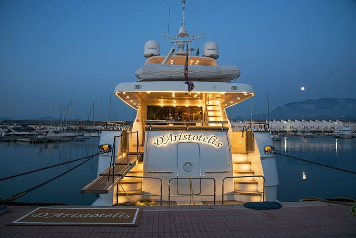 Luxury Yacht Rental on the Mediterrean