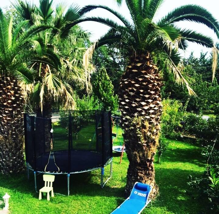 Sofia's House/close to the beach/beautiful garden