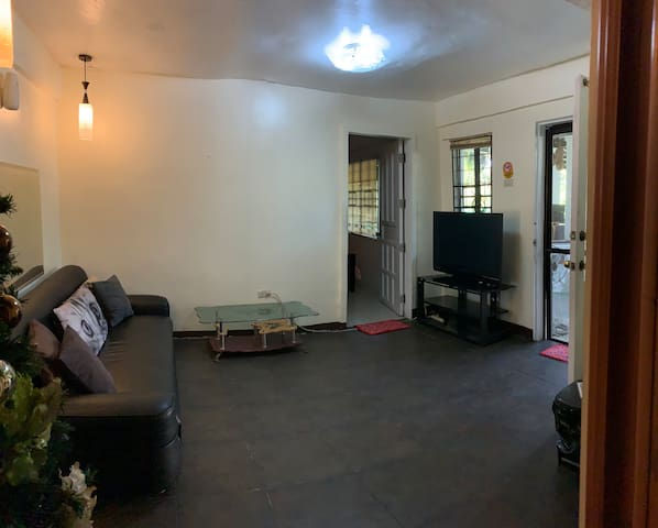 Sitting Area - Ground Floor with TV and Cignal Cable